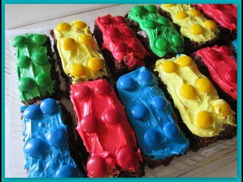 IntheKitchen: Fun & Easy DiY Lego Themed Brownies