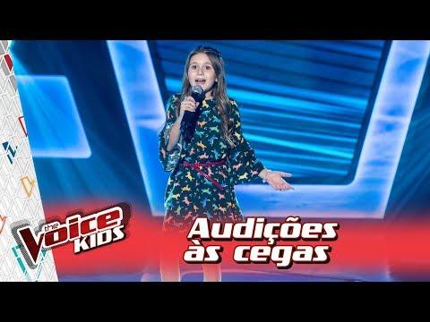 Bia Rosa canta 'Sereia' na Audição – 'The Voice Kids Brasil' | 3ª Temporada
