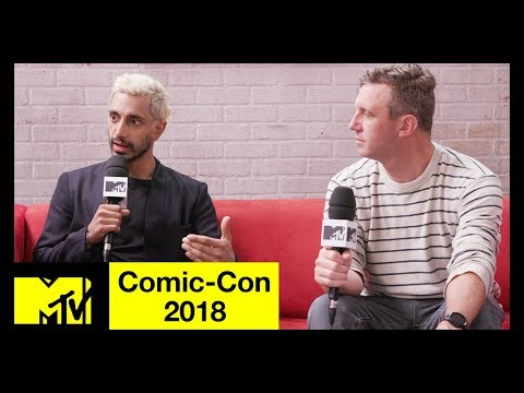 'Venom' Star Riz Ahmed & Ruben Fleischer on Tom Hardy & Anti-Heroes  | Comic-Con 2018 | MTV Mp3