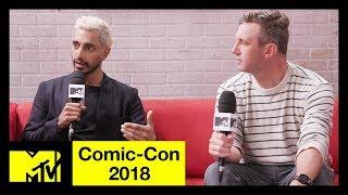 'Venom' Star Riz Ahmed & Ruben Fleischer on Tom Hardy & Anti-Heroes  | Comic-Con 2018 | MTV