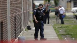 Chicago appeals for help after dozens shot over weekend