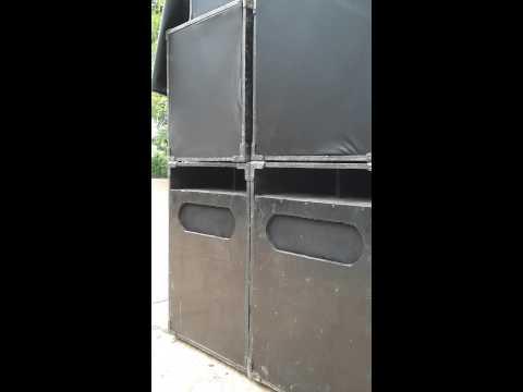 ตู้ลำโพง ทดสอบตู้SUB Bass Devil 18 ฟังเสียงแรงดันลมเบาๆครับ