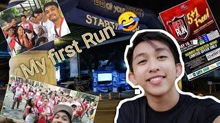 My first Run in a marathon REDRUN 2019