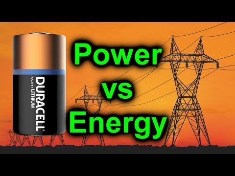 EEVblog #1009 - Voltage vs Power vs Energy