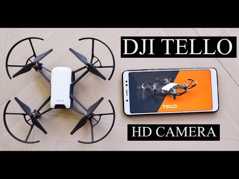 DJI Tello Drone with 5MP HD Camera 720P Wi-Fi FPV Camera Drone   hd camera quadcopter