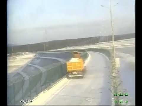 Смертельное ДТП: На Богучанской ГЭС грузовик влетел в мини погрузчик