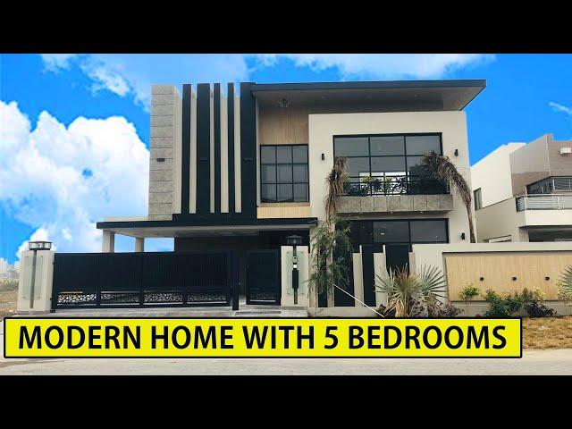 1 Kanal Modern & Classic Home 50'x90' DHA Phase 6 Lahore - Beautiful House Interiors