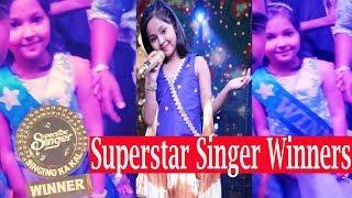 Superstar Singer Winners Name, Superstar Singer Winners Name 2019,Superstar Singe Winner prize money