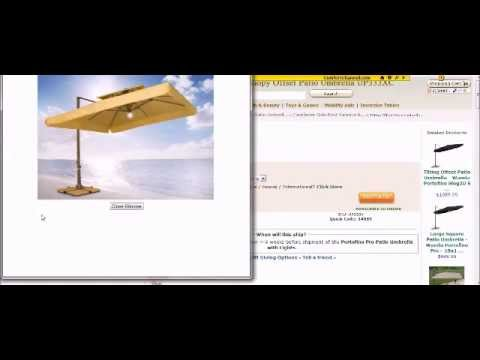 Offset Square Patio Umbrella Reviews and Info Before you Buy a