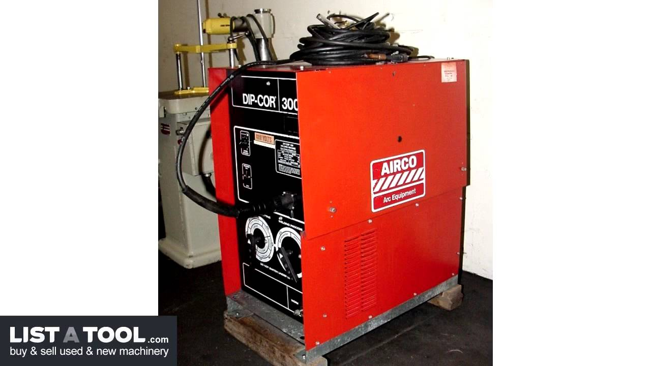 airco dip cor 300 arc welder youtube rh youtube com Airco Dip Pak 150 Airco Dip Pak 250