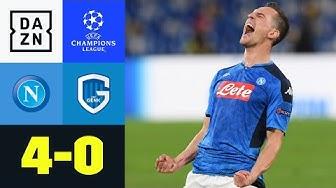 Torwart-Patzer, Milik-Hattrick: Napoli löst Ticket: Neapel - Genk 4:0 | UEFA Champions League | DAZN