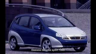 #887. Daewoo tacuma sport 1999 (Prototype Car)