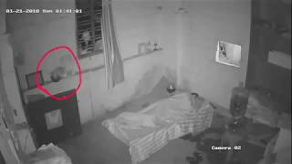 Real Ghost attack captured on Cctv camara   scary videos   scary Ghost videos   paranormal Activity