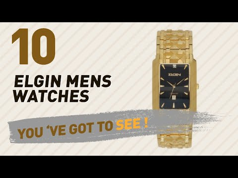 Elgin Mens Watches Luxury Collection // The Most Popular 2017
