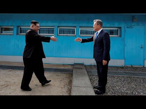 Key moments from historic Korean summit