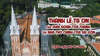 Thánh lễ tạ ơn của phái đoàn Ngoại giao Toà Thánh tại Nhà thờ Chánh toà Sài Gòn