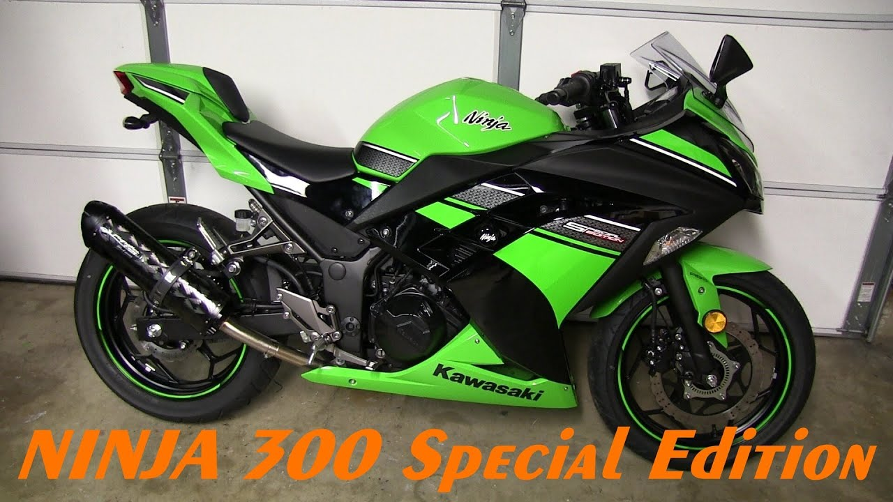 Kawasaki  Rear Tire Install