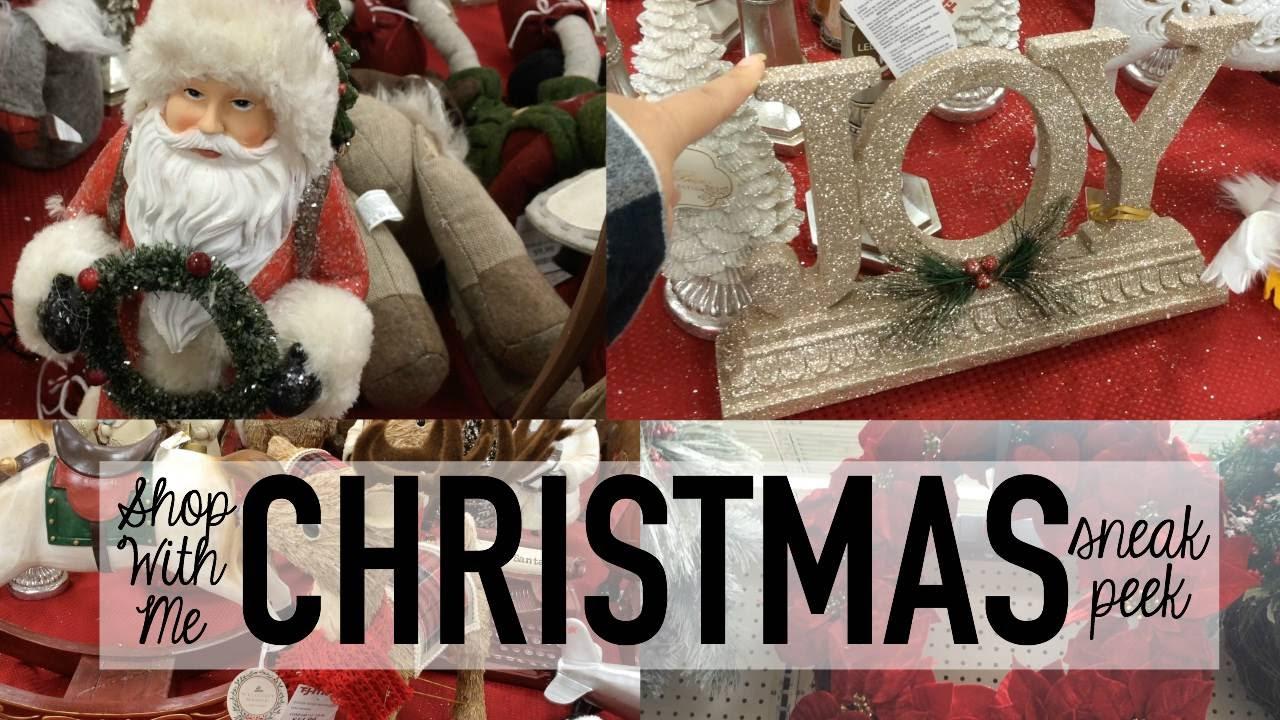 Christmas Home Decor Shop With Me Tjmaxx Wal Mart