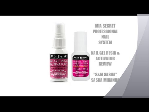 Mia Secret Professional Nail System Gel Resin Activator Review You