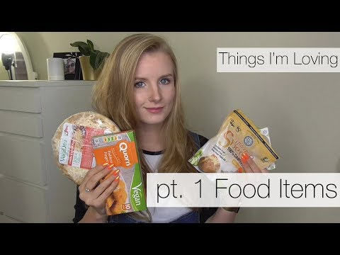 Things I'm Loving: Pt 1 Food - Vegan Halloumi and more!