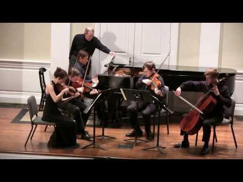 Brahms F Minor Piano Quintet