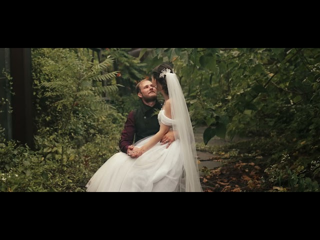 Gorgeous Black & Gold Wedding at Martinsburg, WV Roundhouse - Erica + Matthew Highlight Reel