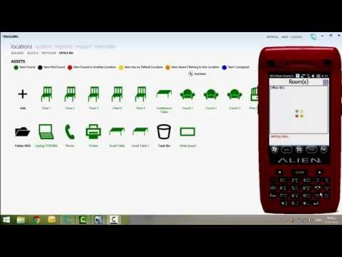 Tragging Fixed Assets RFID Tracking Demo Video