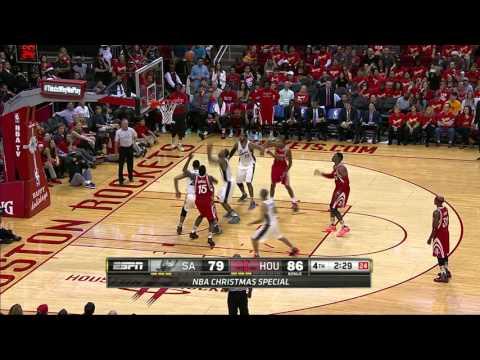 San Antonio Spurs vs Houston Rockets | December 25, 2015 | NBA 2015-16 Season