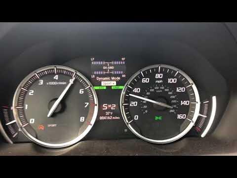 2018 Acura TLX V6 SH-AWD 0-80 MPH RUN