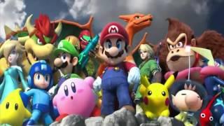 Super Smash Bros 3DS/Wii U Intro Saint Seiya
