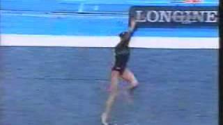 Patricia Moreno 2003 Worlds Team Final Floor
