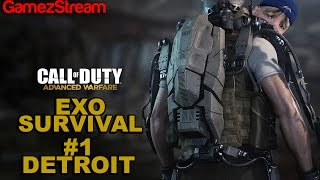 Victrix Plays! COD Advanced Warfare! Exo Survival - Detroit Thumbnail