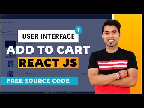 ReactJS Shopping Add To Cart in Hindi