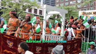 african events live broadcast nigeria independence parade 2014 in new york clip 1