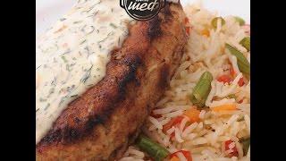 Меню на 29 - 03 Октября | Зразы из рыбы с рисом и овощами