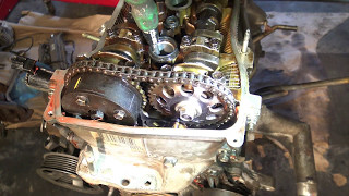 How to check timing chain position is OK Toyota Rav-4 VVT-i. Years 2000 to 2010