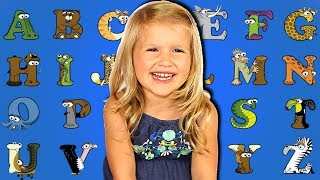 learning ABC Animals! ABC song nursery rhyme for kids! Learning alphabet with animals!