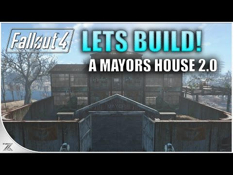 Fallout 4 Contraptions - Lets Build A Mayors House 2.0 | The Sanctuary
