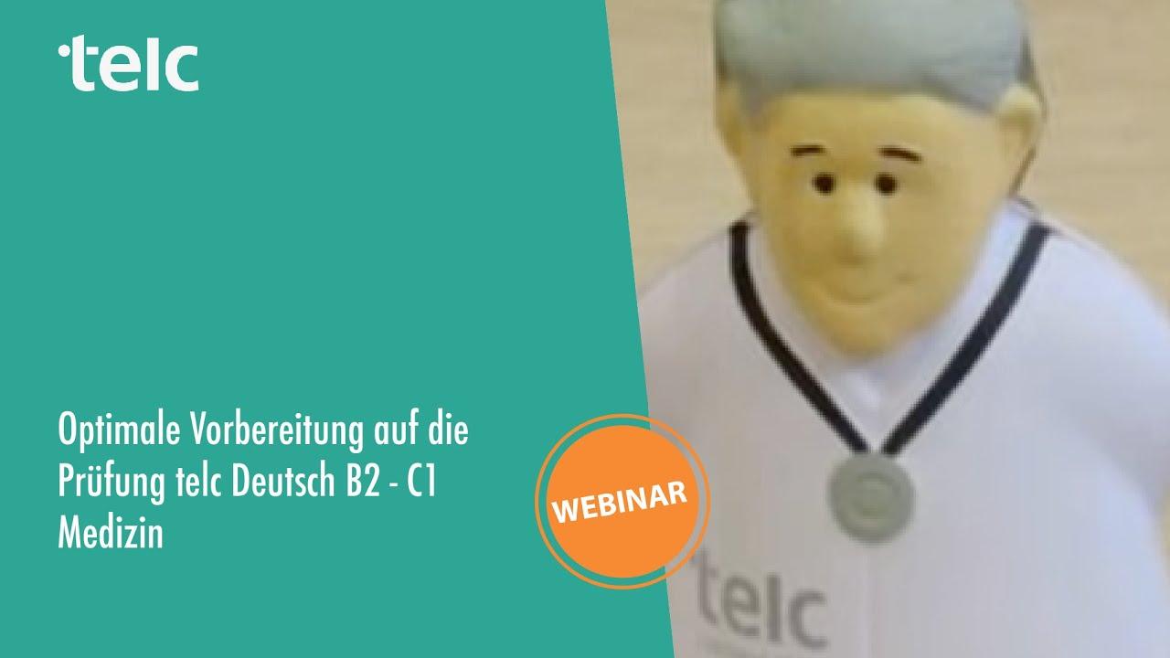 Optimale Vorbereitung Auf Die Prüfung Telc Deutsch B2 C1 Medizin