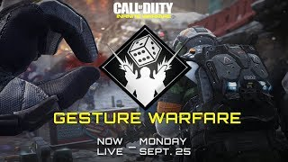 "New Game Mode In Infinite Warfare - ""Gesture Warfare"" Review"