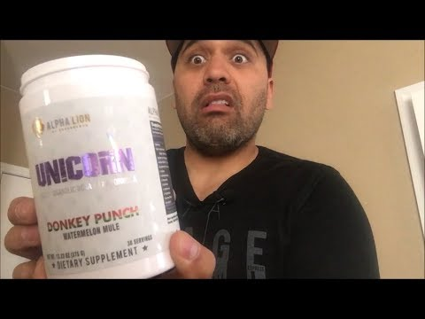 Alpha Lion Unicorn BCAA/EAA Product Review (Donkey Punch)