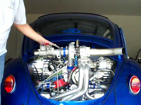 vw bug beetle turbo - YouTube