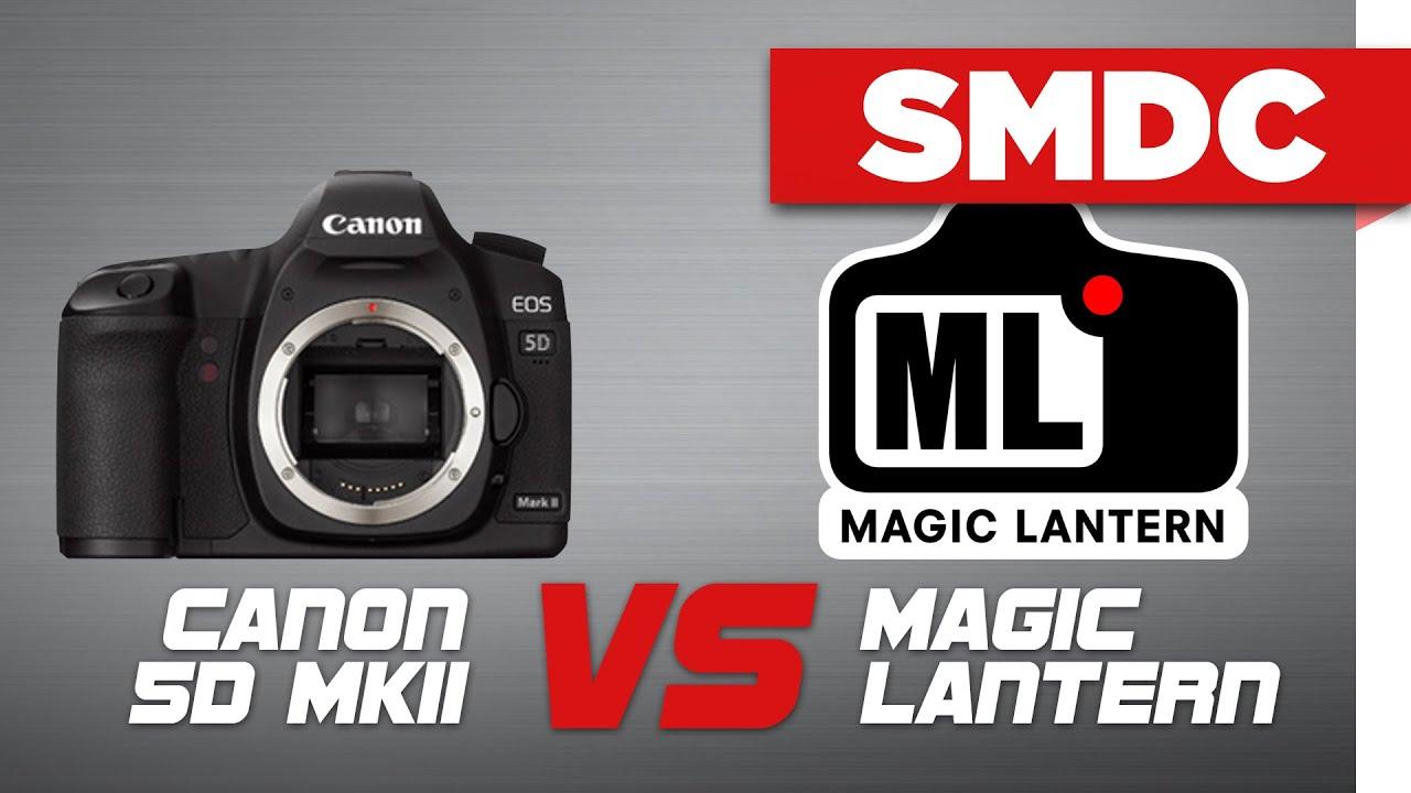 Canon 5D MKII Vs 5D MKII + Magic Lantern - Ungraded