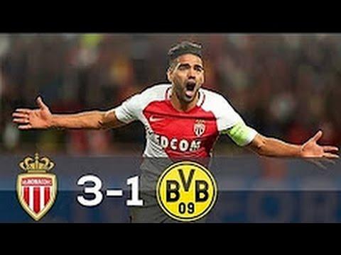 AS Monaco vs Borussia Dortmund 3-1 All Goals & Highlights 19/04/2017
