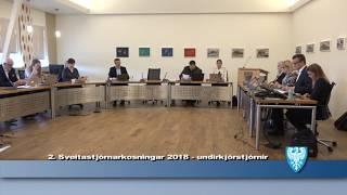 Fundur Bæjarstjórnar 8.maí 2018