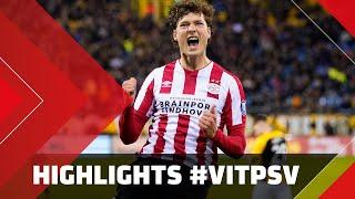 Highlights | Vitesse - Psv