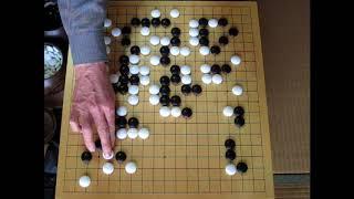 跡目 丈和 vs 跡目 安節幻庵因碩(先) MR囲碁2238