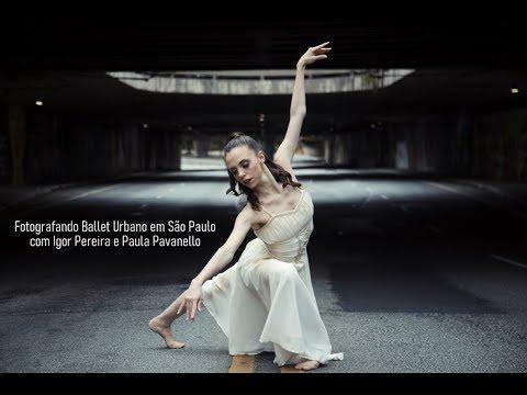 Fotografando Ballet Urbano em São Paulo com Igor Pereira e Paula