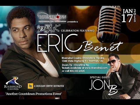 Eric Benet & Jon B-MLK Celebration Concert