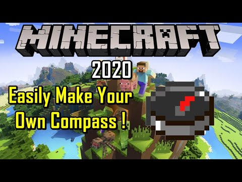 how-to-make-compass-in-minecraft-2020-(easy-method)